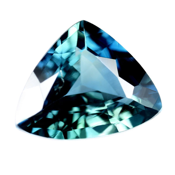 0.98ct Certified Natural Teal Sapphire