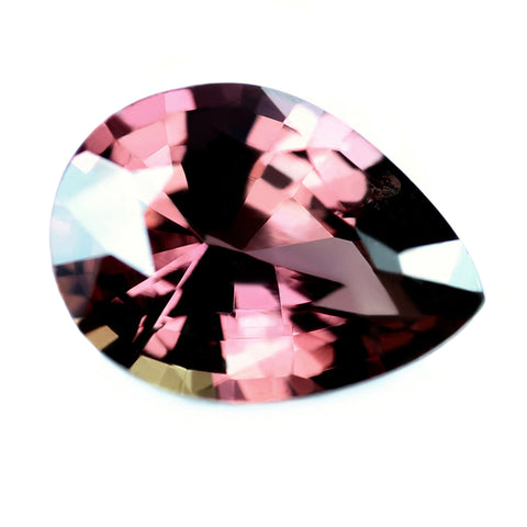 0.84ct Certified Natural Peach Sapphire