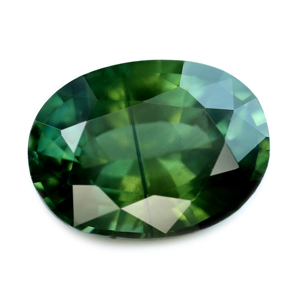 1.20ct Certified Natural Green Sapphire