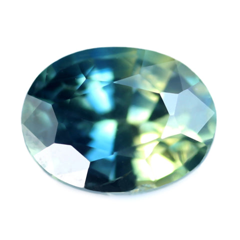 0.50ct Certified Natural Multicolor Sapphire