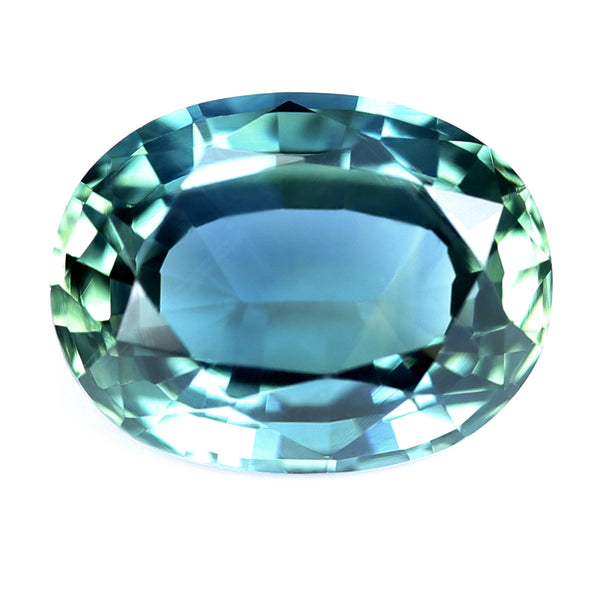 0.92ct Certified Natural Teal Sapphire