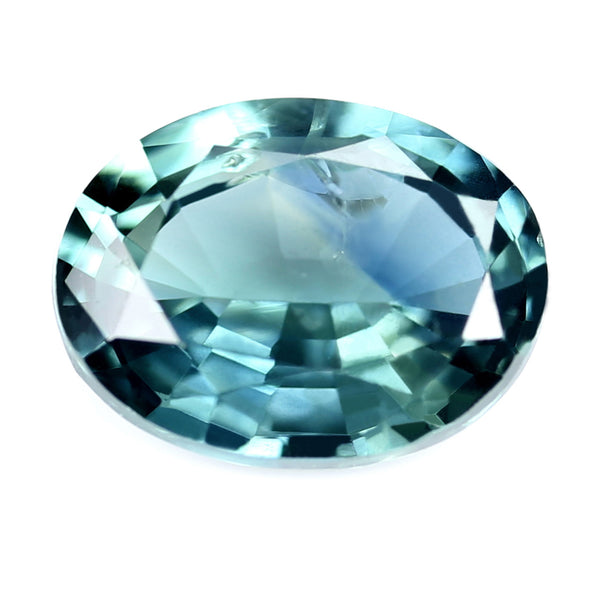 0.79ct Certified Natural Teal Sapphire