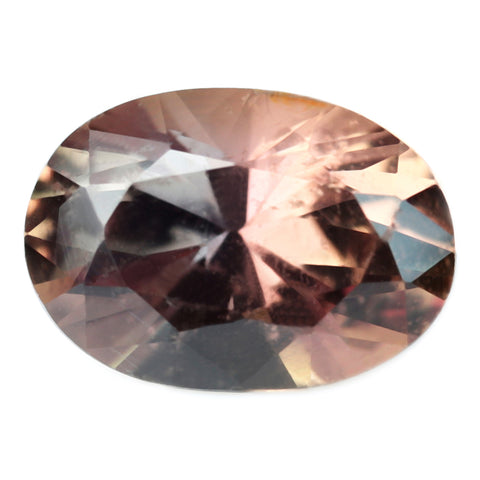 0.89ct Certified Natural Brown Sapphire