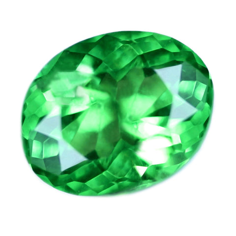 0.73ct Certified Natural Green Tsavorite