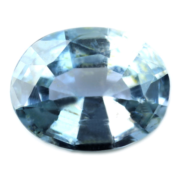 0.93ct Certified Natural White Sapphire