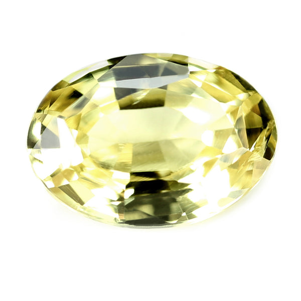 0.89ct Certified Natural Yellow Sapphire
