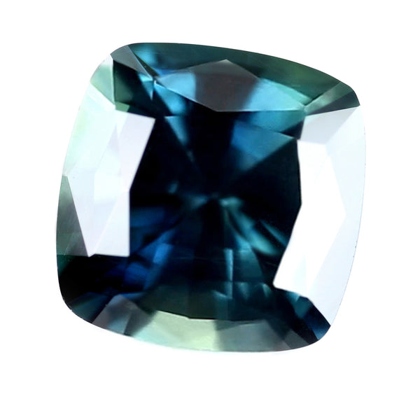 1.66ct Certified Natural Teal Sapphire