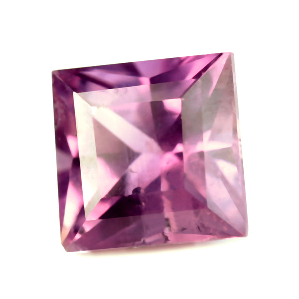 0.68ct Certified Natural Purple Sapphire