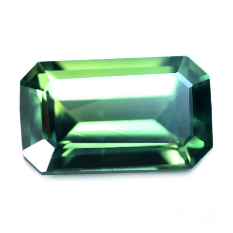 0.59ct Certified Natural Green Sapphire