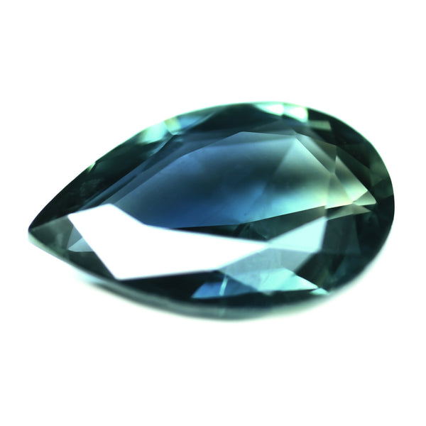 0.85ct Certified Natural Teal Sapphire