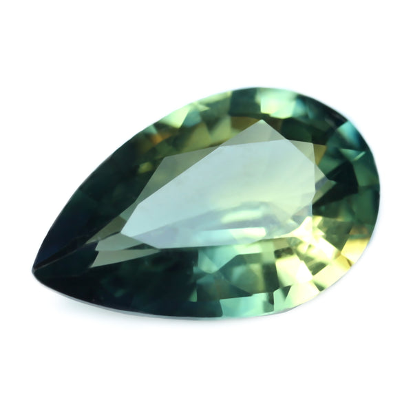 0.72ct Certified Natural Green Sapphire