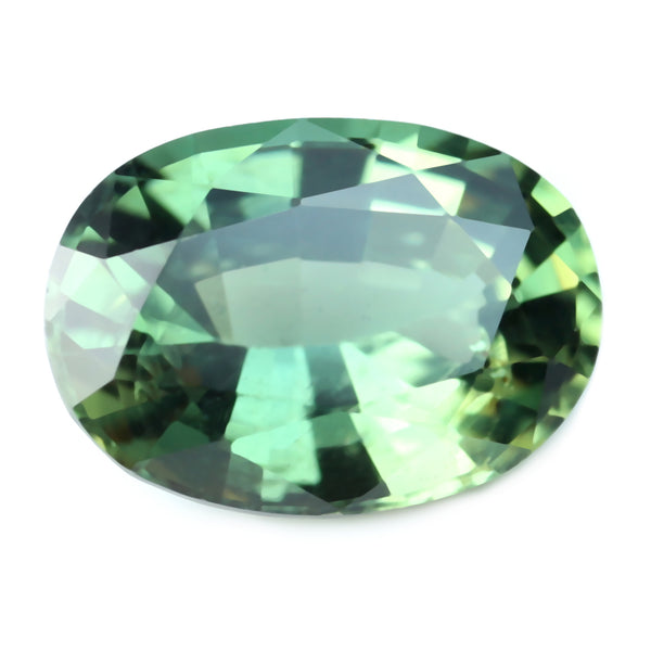 0.81ctCertified Natural Green Sapphire