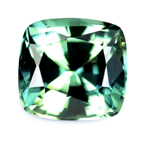 0.43ct Certified Natural Green Sapphire