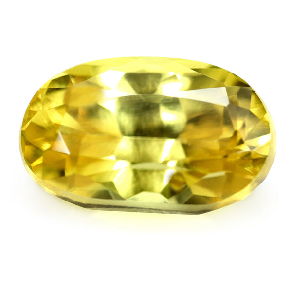 1.48ct Certified Natural Yellow Sapphire