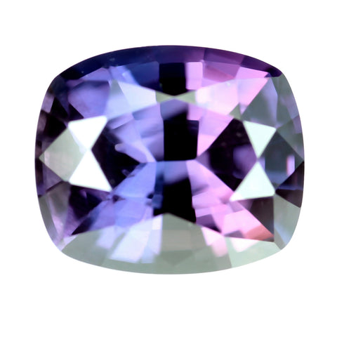 1.64ct Certified Natural Multicolor Sapphire