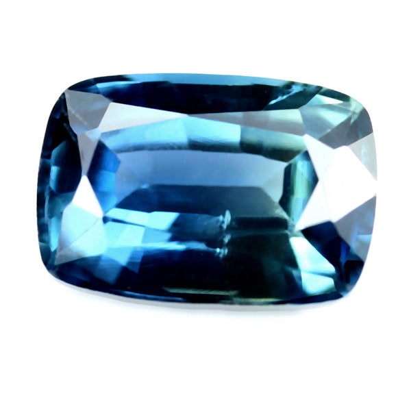 1.03ct Certified Natural Teal Sapphire