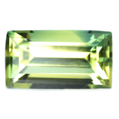 0.58ct Certified Natural Green Sapphire
