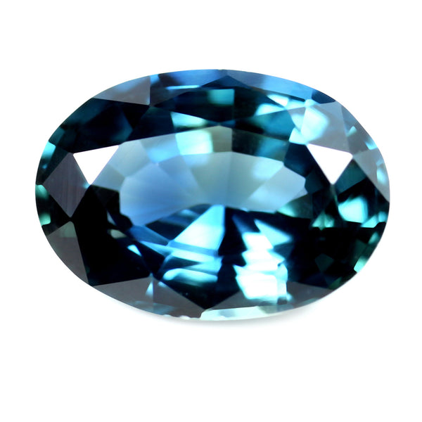 1.10ct Certified Natural Teal Sapphire