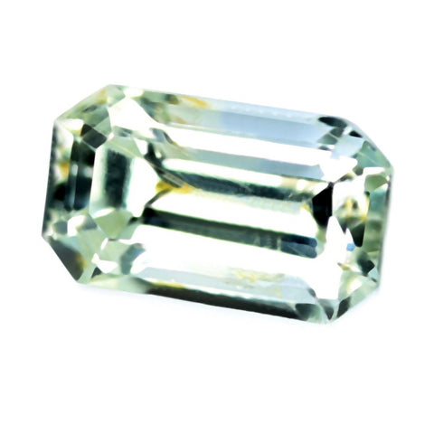 0.25ct Certified Natural White Sapphire