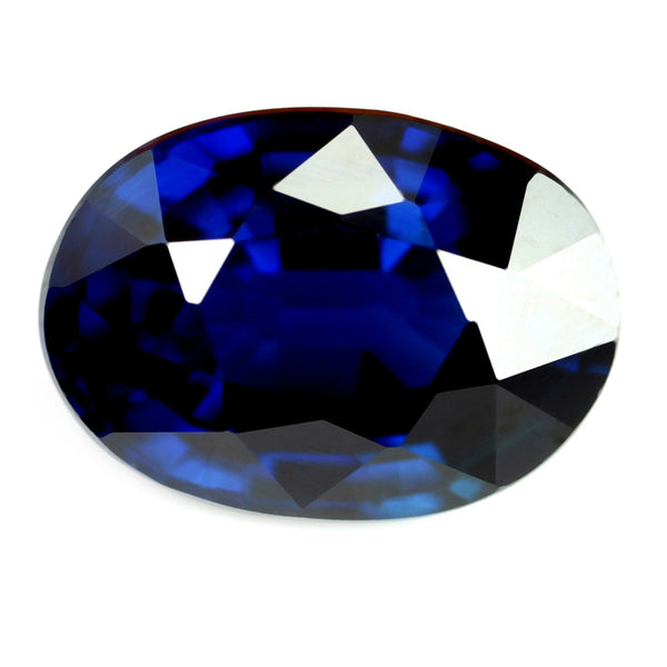 1.14ct Certified Natural Royal Blue Sapphire