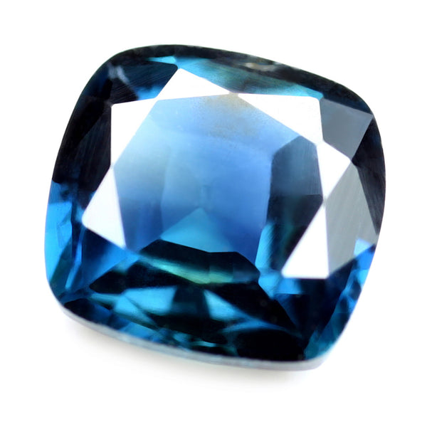 0.77ct Certified Natural Blue Sapphire