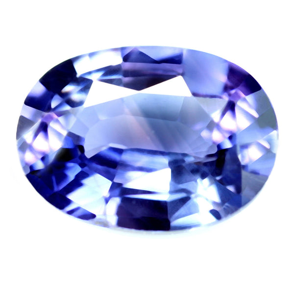 0.76ct Certified Natural Violet Sapphire
