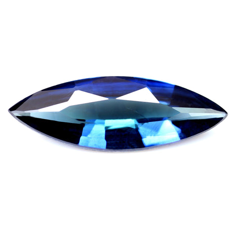 0.76ct Certified Natural Blue Sapphire