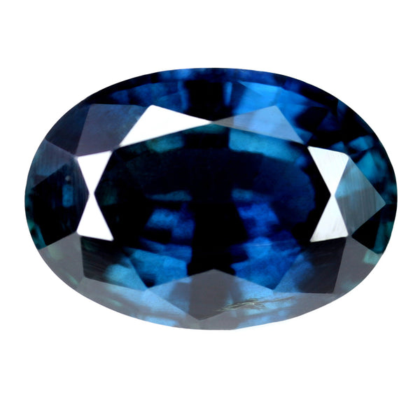 1.50ct Certified Natural Blue Sapphire