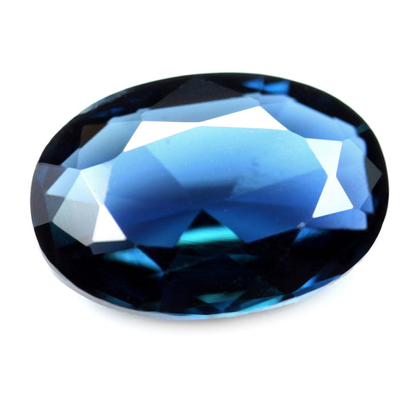 1.18ct Certified Natural Blue Sapphire