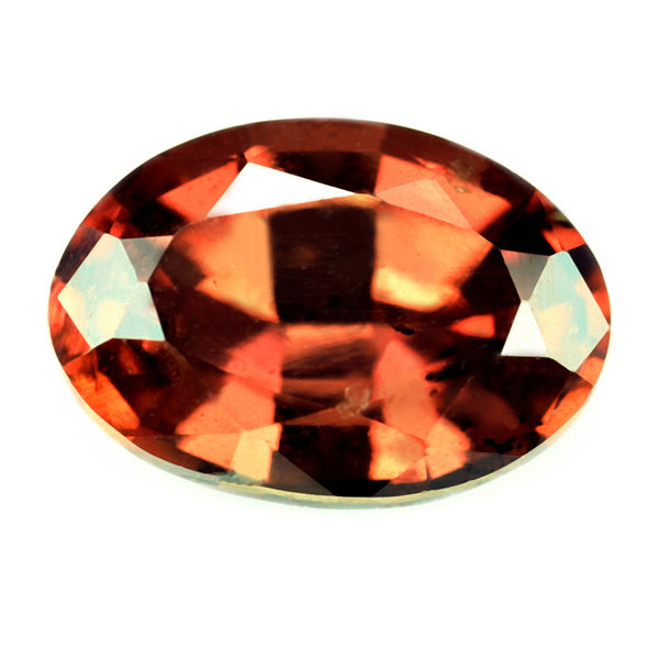 0.73ct Certified Natural Orange Sapphire