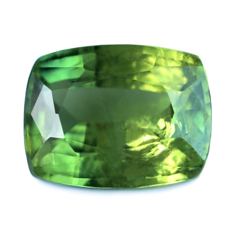 1.56ct Certified Natural Green Sapphire
