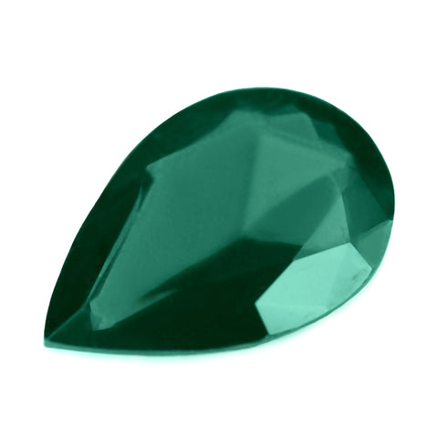 0.83ct Certified Natural Green Sapphire