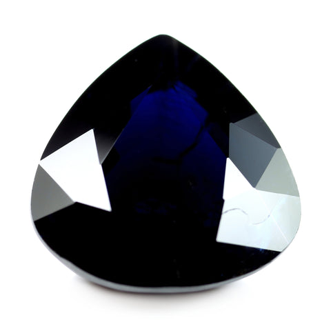 6.43ct Certified Natural Blue Sapphire