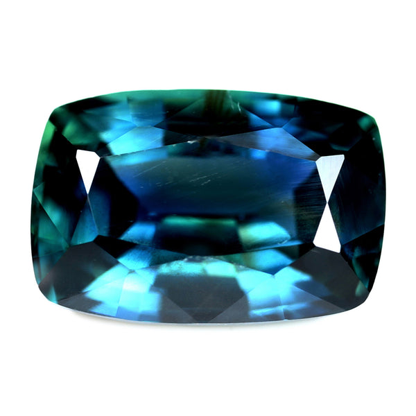 1.89ct Certified Natural Teal Sapphire