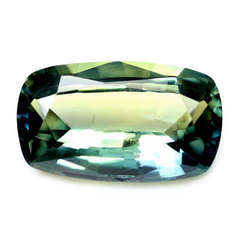 1.01ct Certified Natural Multicolor Sapphire