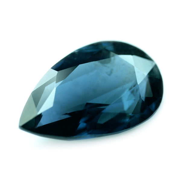 0.83ct Certified Natural Teal Sapphire