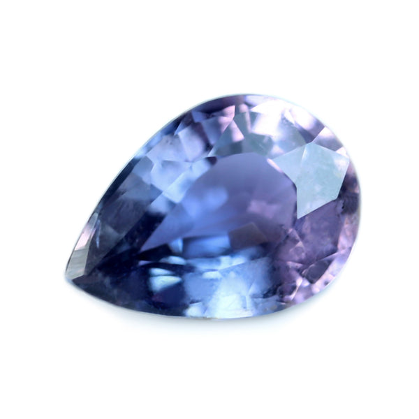 0.84ct Certified Natural Purple Sapphire