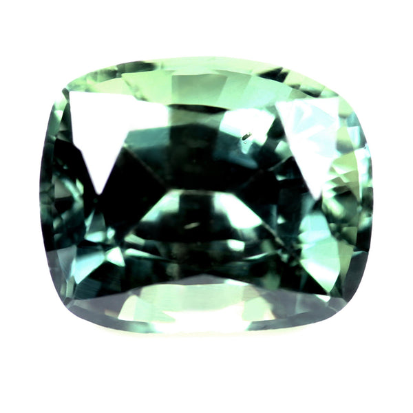 1.10ct Certified Natrual Green Sapphire