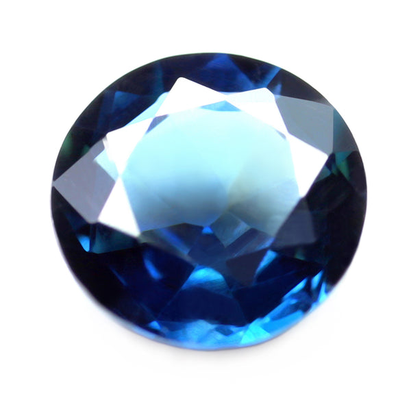 0.67ct Certified Natural Blue Sapphire