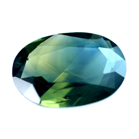 0.69ct Certified Natural Bicolor Sapphire