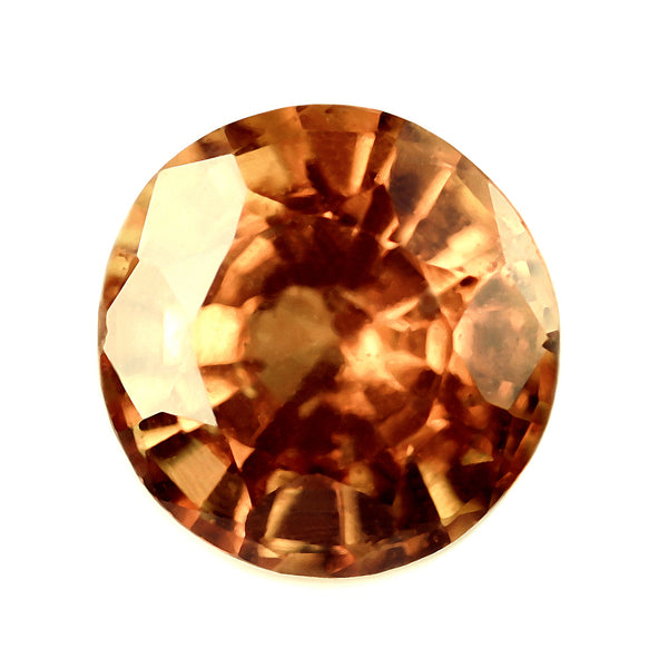 0.69ct Certified Natural Orange Sapphire