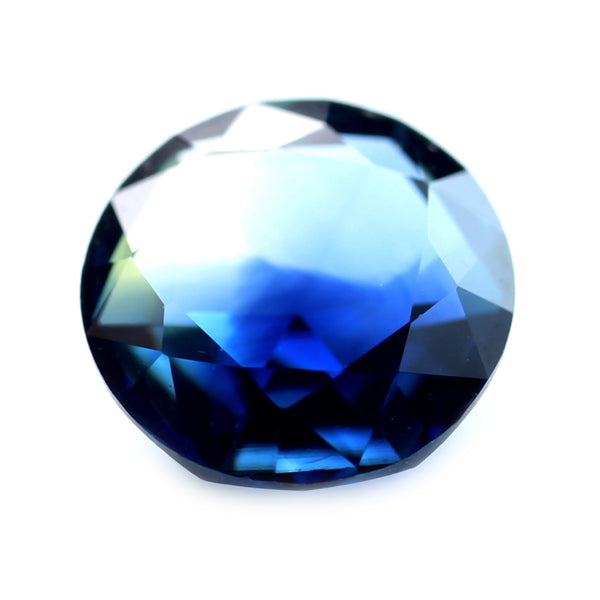 0.59ct Certified Natural Bicolor Sapphire