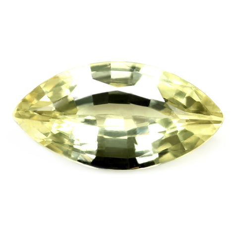 0.73ct Certified Natural Yellow Sapphire
