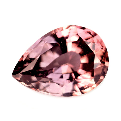 0.49ct Certified Natural Peach Sapphire