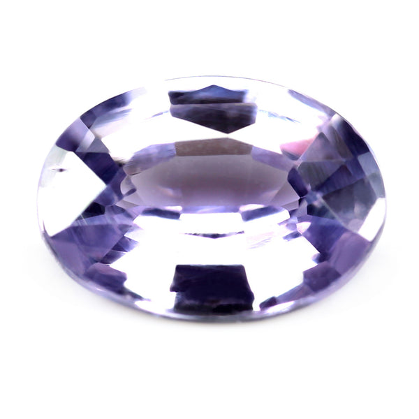 0.71ct Certified Natural Violet Sapphire