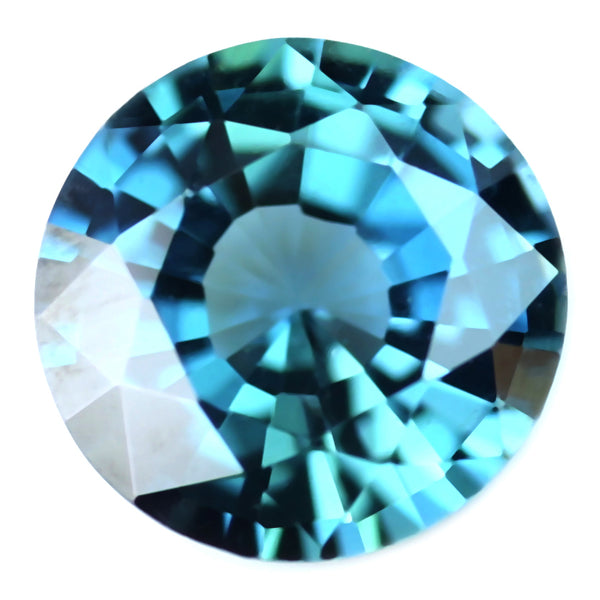 0.47ct Certified Natural Teal Sapphire