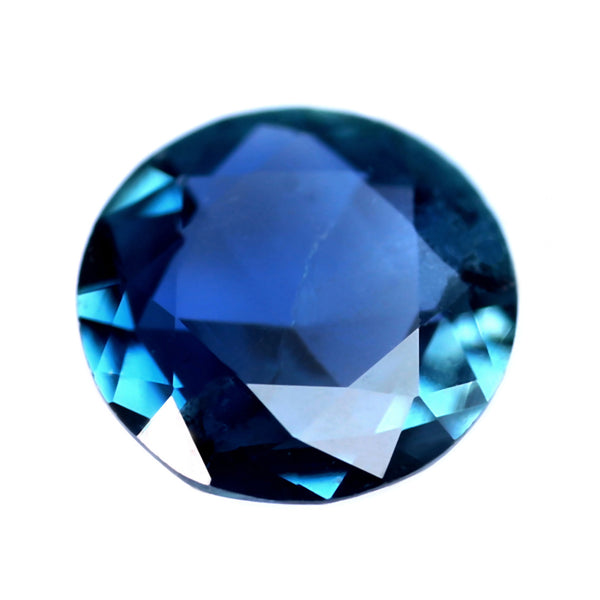 0.40 ct Certified Natural Teal Sapphire