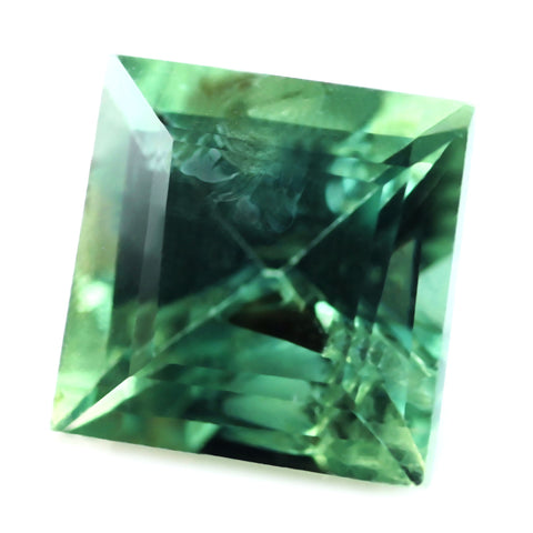 0.54ct Certified Natural Green Sapphire