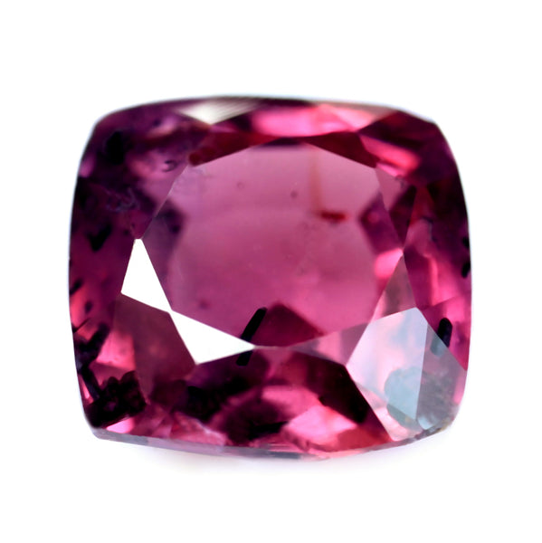 0.72ct Certified Natural Purple Sapphire