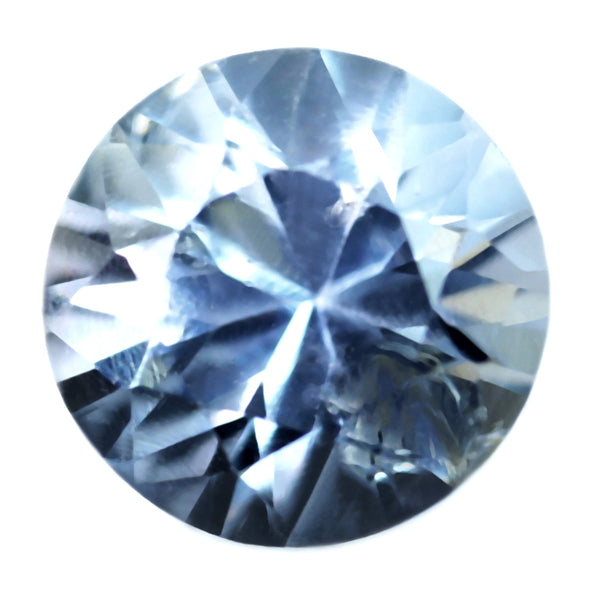 0.64ct Certified Natural White Sapphire